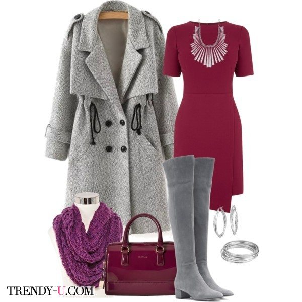 Лаковую итальянскую сумку Furla можно сочетать с базовыми вещами и сезонными трендами