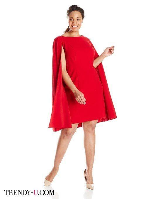 Оригинальное решение - платье-кейп