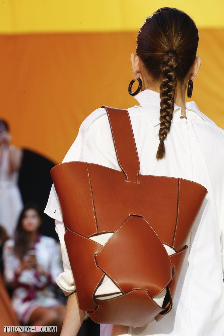 Модная сумка-рюкзак, Celine, весна-лето 2016