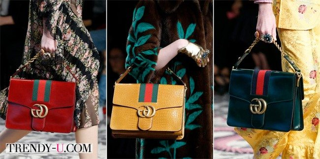 Стильные сумки, Messenger Bag от Gucci сезона весна-лето 2016