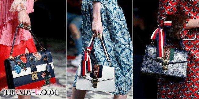 Модные сумки Messenger Bag, Gucci, Весна-лето 2016