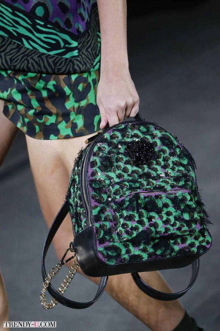Модный рюкзак, Vercase весна-лето 2016