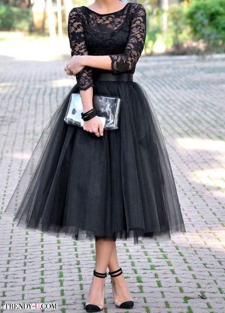 """Модный нарядный образ в стиле """"драма"""""""