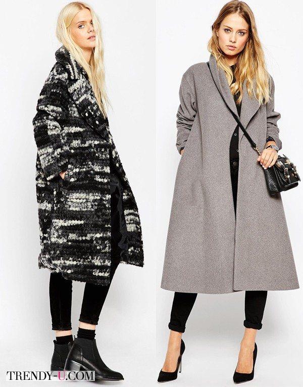 Пальто оверсайз в интернет-магазине АСОС