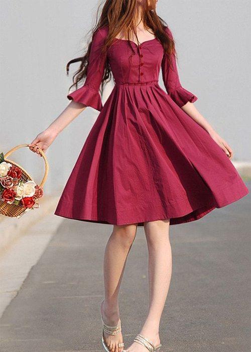 Платье в романтическом стиле