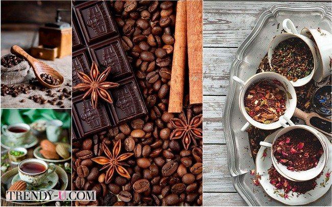 Хороший чай или кофе могут стать прекрасным новогодним подарком