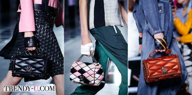 Модные сумки, Louis Vuitton весна-лето 2016
