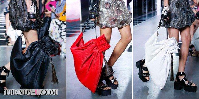 Модные кожаные рюкзаки, Louis Vuitton Весна-лето 2016