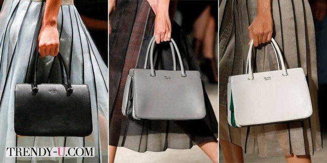 Модная сумка сезона весна-лето 2106 от Prada