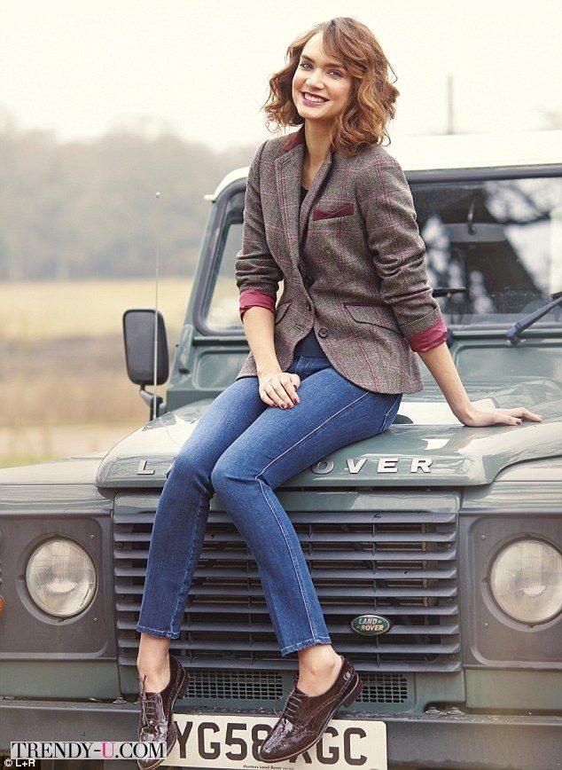 Твид + марсала - самый модный жакет в этом сезоне!