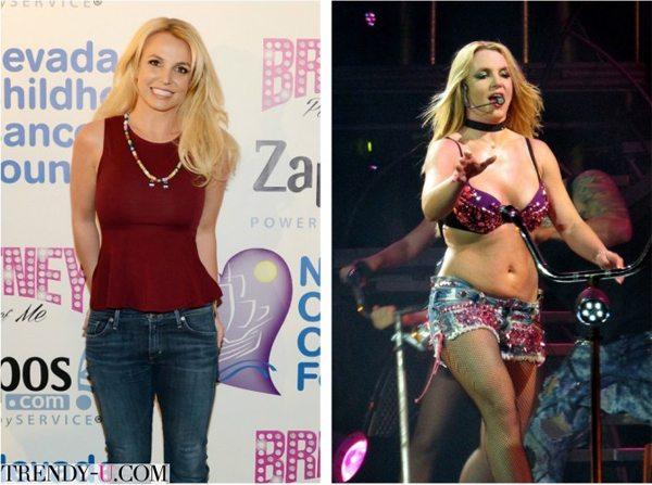 Бритни Спирс в жизни и на сцене. В жизни - лучше!