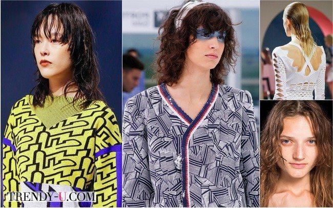 Эффект мокрых волос от Alexander Wang, Kenzo, Chanel в коллекциях весна-лето 2016