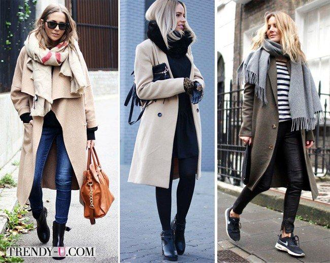 Шарф и пальто как любовь и разлука - не ходят без друг друга