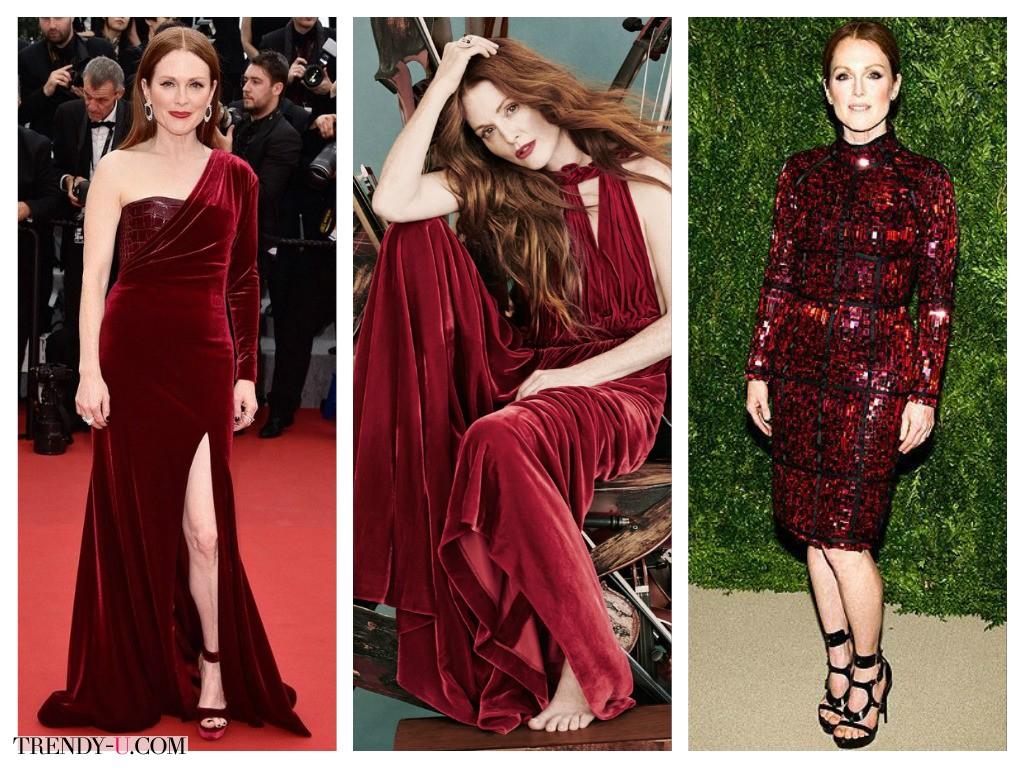 Модный цвет 2015 Марсала, он же бордовый