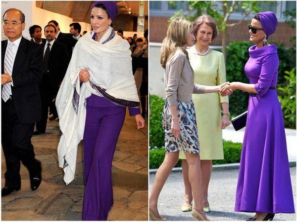 Платья в пол и брюки-юбка смотрятся на Мозе элегантно и современно