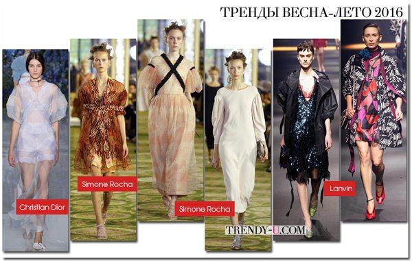 Платья и тренчи с объемными рукавами в моде весной и летом