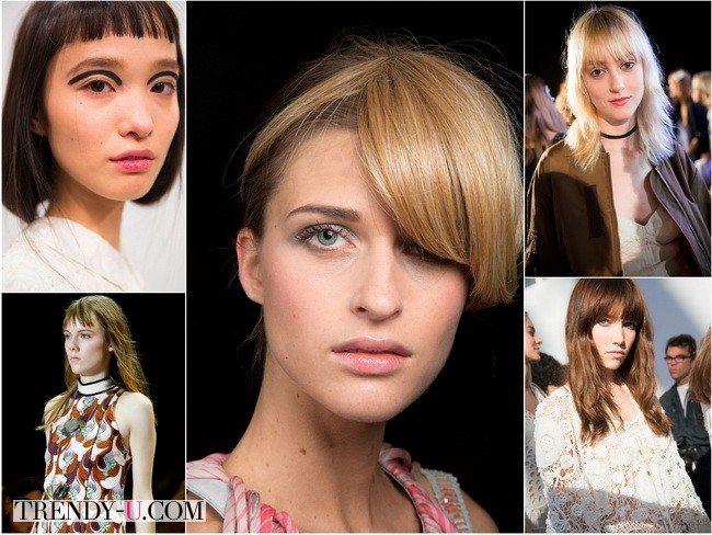 Челка на пике моды: показы весна-лето 2016 Fendi, Chloe, Emilio Pucci, Giorgio Armani, Giambattista Valli