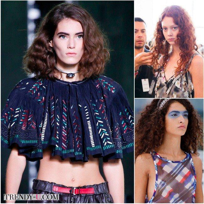 Пышные кудри снова в моде: показы весна-лето 2016 Chanel, Calvin Klein, Louis Vuitton
