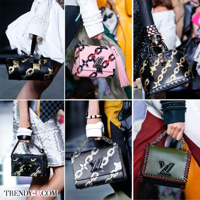 Модные сумки с принтом, Louis Vuitton весна-лето 2016
