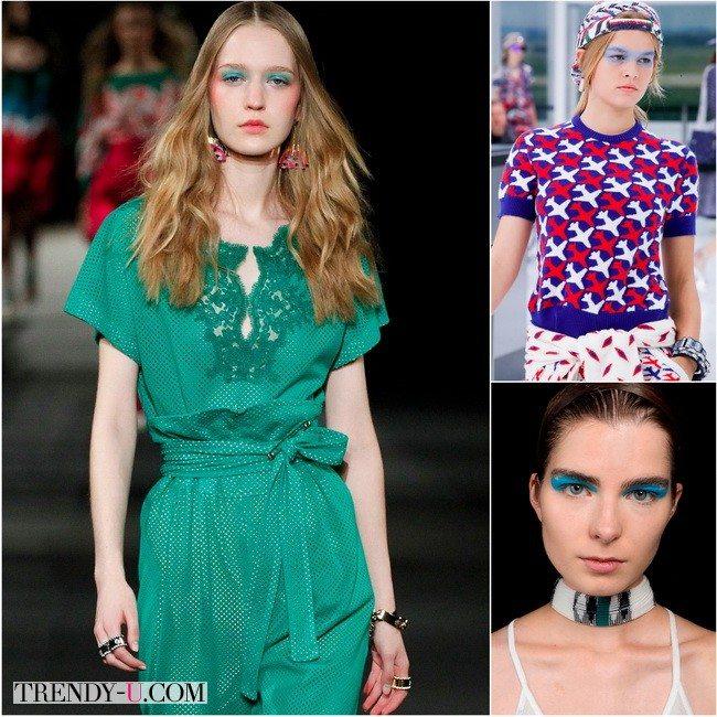 Моно тени в моде весной-летом 2016: показы коллекций Alexis Mabille, Chanel и Missoni