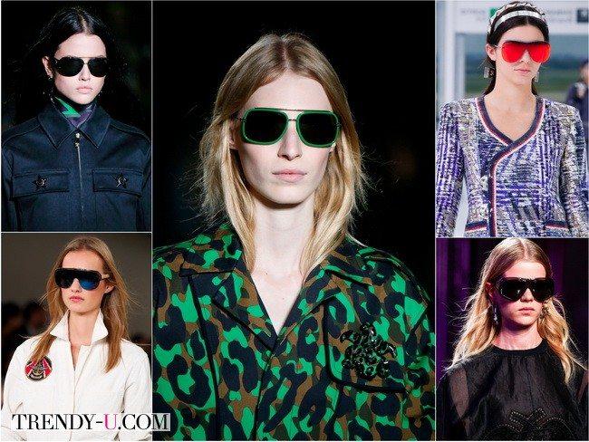 Модные солнцезащитные очки весна-лето 2016