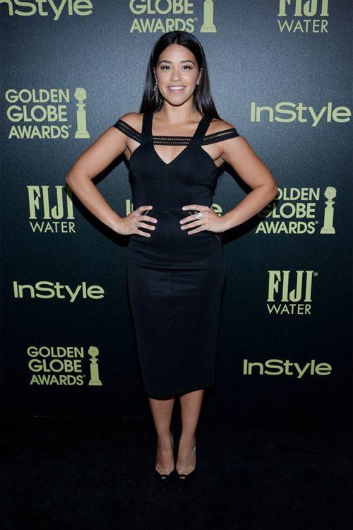 Джина Родригез в маленьком черном платье