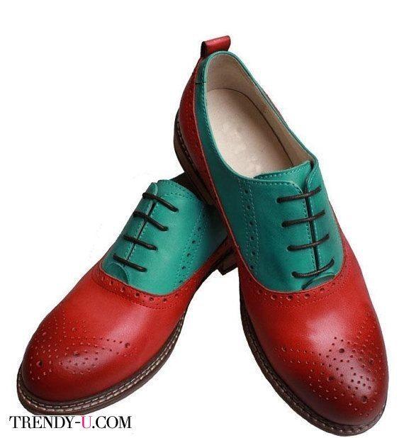 Стильные туфли оксофрд