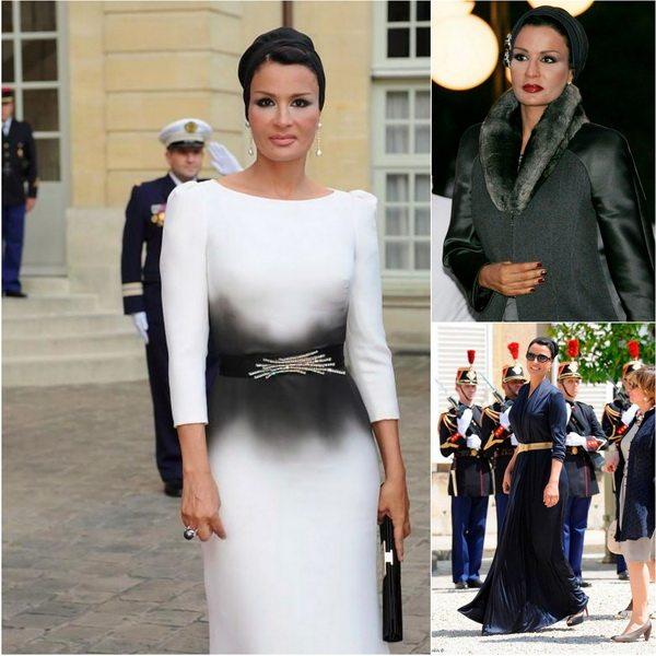 Жена эмира Катара - элегантная Моза