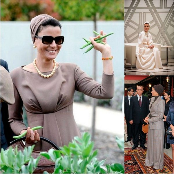 Икона женского стиля арабского мира - Шейха Моза