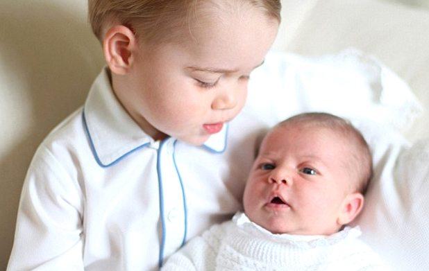 Чарльз и Шарлотта. Снимок сделан Кейт в мае