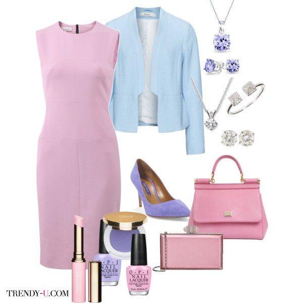 Розовый кварц - главный цвет 2016 года, сочетается с голубым и сиреневым