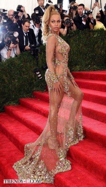 Бейонсе в платье, которого нет