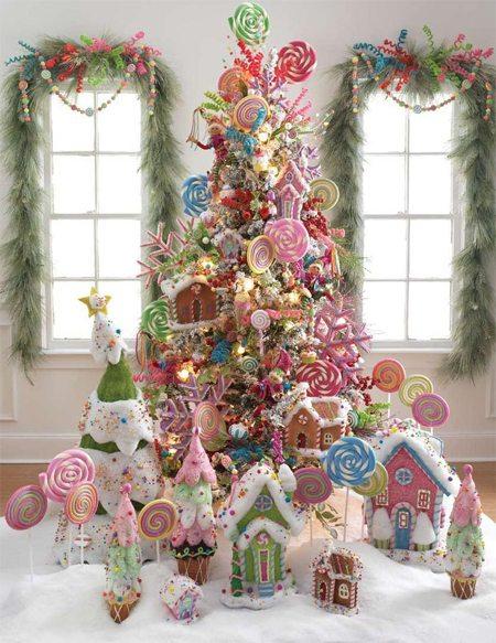 Прянично-конфетная елка!