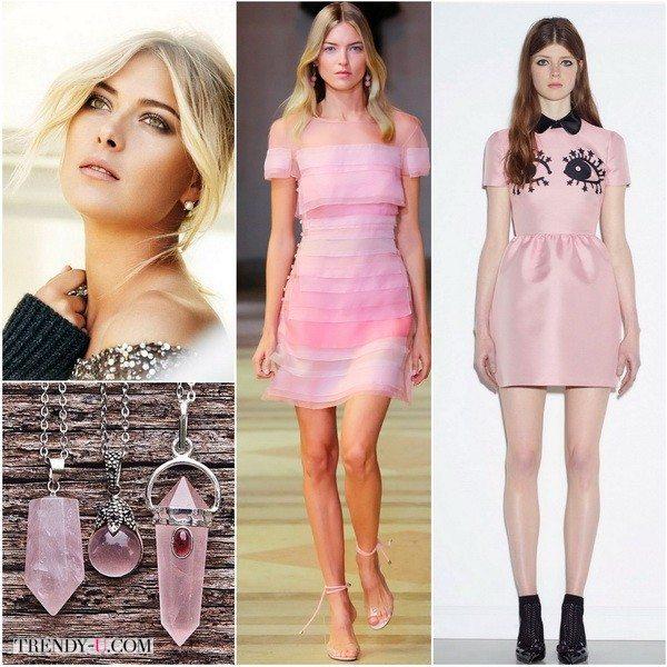 Размытые оттенки Розового кварца хорошо для Летнего цветотипа