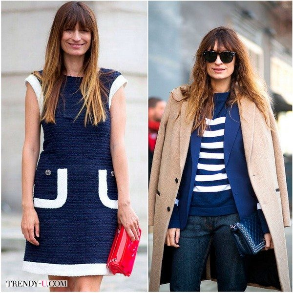 Каролин хороша и в девочковых платьях и в небрежно элегантном многослойном оверсайз стиле
