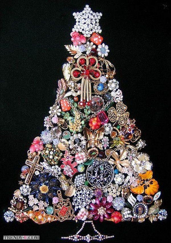 Супер-нарядная елка. Вся из украшений!