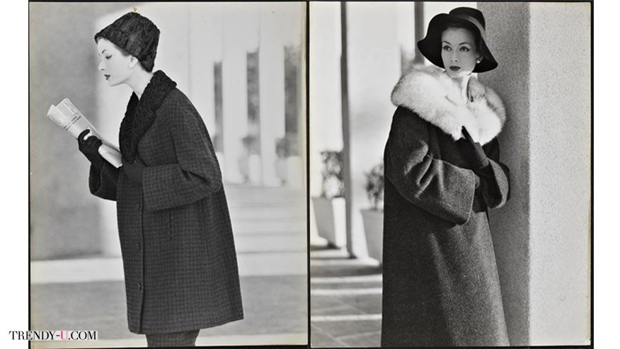 Рекламное фото Max Mara 50-х годов