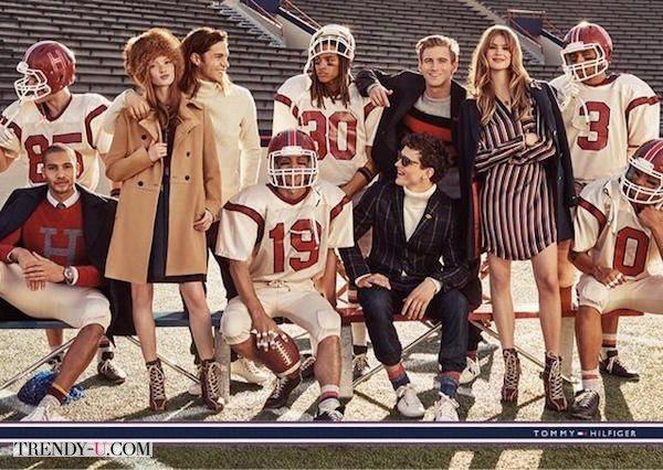 Рекламная кампания Tommy Hilfiger 2015. О, спорт! Ты - мода!