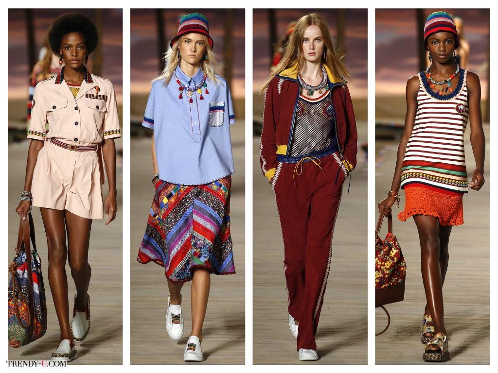 Одежда Tommy Hilfiger, коллекция весна-лето 2016