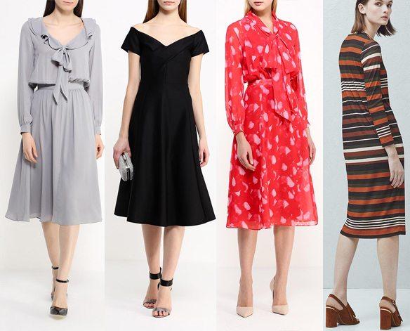 Модные платья весна-лето 2016: купить!