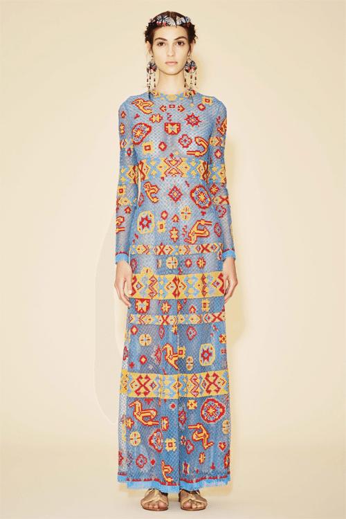 Платье вечернее из коллекции Valentino Resort 2016
