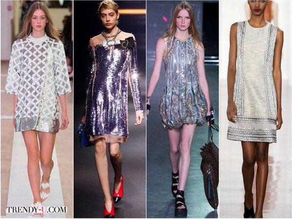 Emanuel-Ungaro, Lanvin, Louis-Vuitton, Jason-Wu предлагают металлический настрой весной-летом 2016