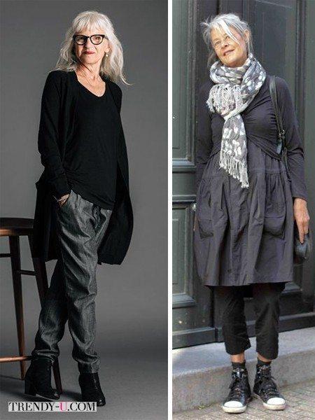 Модницы зрелого возраста