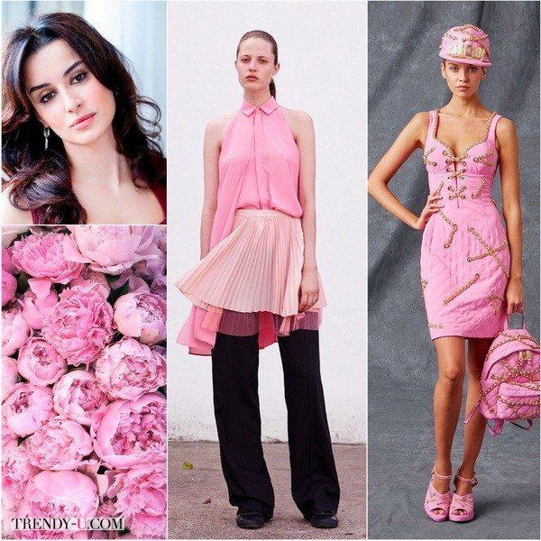 Зимнему цветотипу идет цвет розовый кварц холодных оттенков