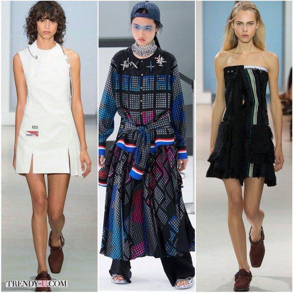Платья в стиле спорт кэжуал весной-летом 2016: Paco-Rabanne, Chanel и снова Paco-Rabanne