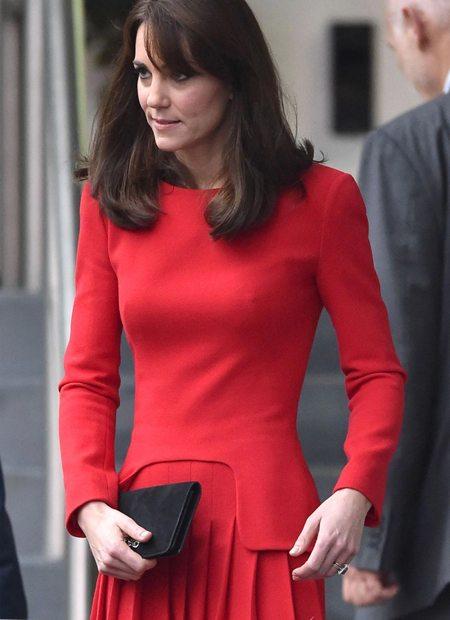 Кейт Миддлтон любит одежду от Alexander Mc Queen