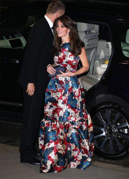 Кейт великолепна в вечернем платье от Erdem
