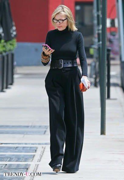 Модница Дайан Китон полна энергии
