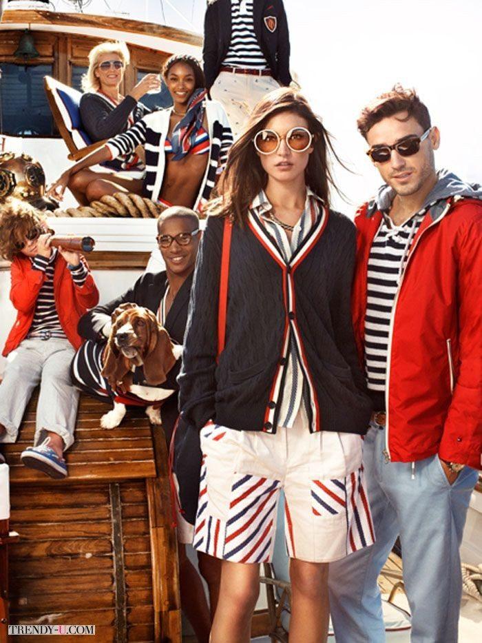 Мужская и женская одежда Tommy Hilfiger - идеально подходит для отдыха на яхте
