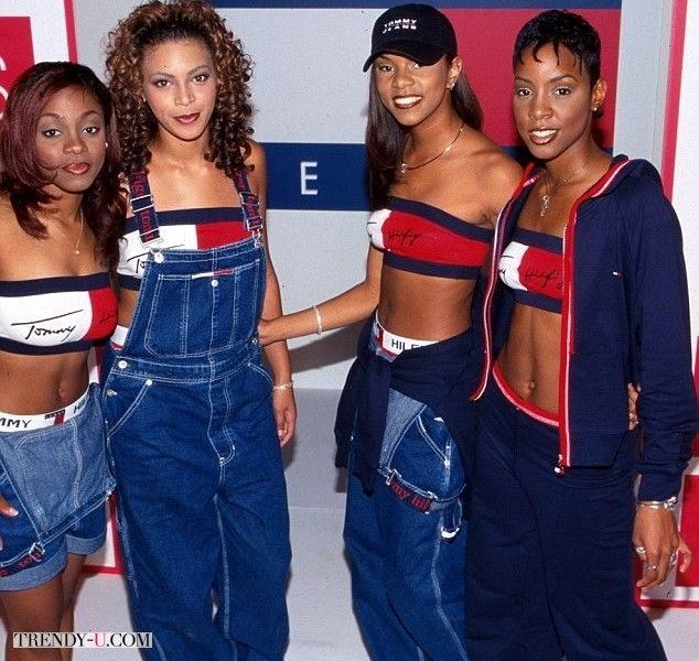 Звезды Destiny's Child в одежде Tommy Hilfiger